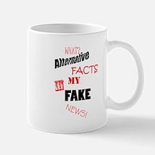 Alternative Facts..Fake News Mugs