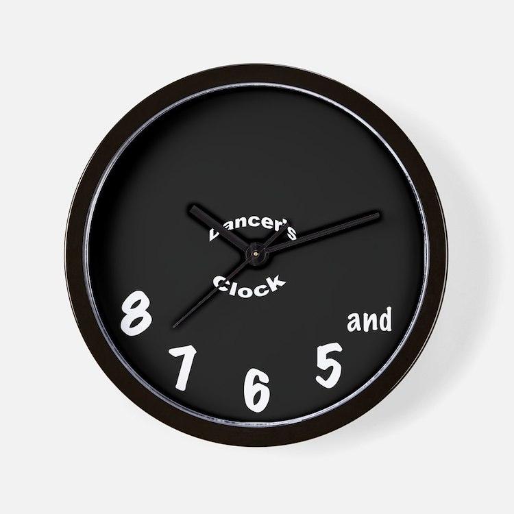 Dancer's Clock - Black