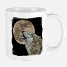 Cute Howling wolf Mug