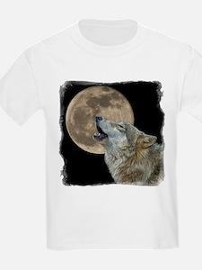 Unique Wolf moon T-Shirt