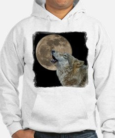 Unique Howling wolf Hoodie
