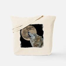 Unique Wolf moon Tote Bag