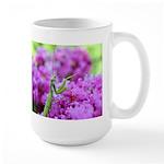 Pink and Praying Mantis Large Mug