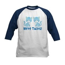 Twin Blue Kittens Tee