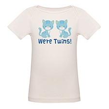 Twin Blue Kittens Tee
