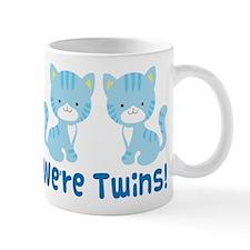 Twin Blue Kittens Mug