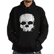 Forest Ostriches Skull Hoodie