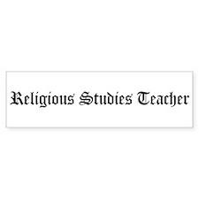 Religious Studies Teacher Bumper Bumper Sticker
