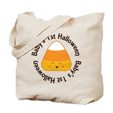 1st Halloween Candy Tote Bag