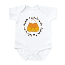 1st Halloween Candy Infant Bodysuit