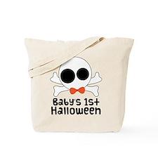 Baby's 1st Halloween Skull Tote Bag