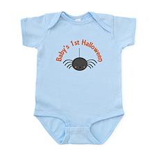 1st Halloween Spider Infant Bodysuit