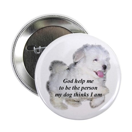 """God help me to be 2.25"""" Button (10 pack)"""