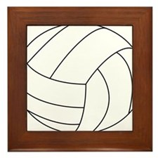 Volleyball Framed Tile