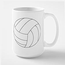 Volleyball Large Mug