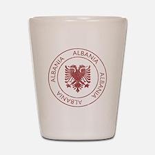 Vintage Albania Shot Glass