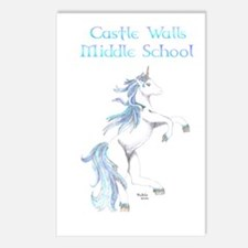 Middle School Unicorns Postcards (Package of 8)