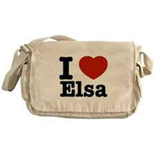 I love Elsa Messenger Bag