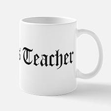 Statistics Teacher Mug
