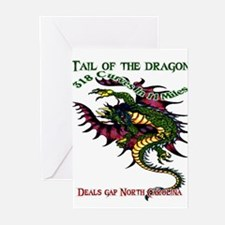 Tail Of The Dragon Greeting Cards (Pk of 10)