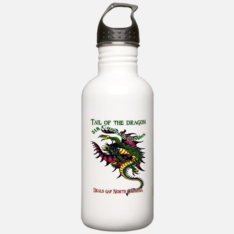 Tail Of The Dragon Water Bottle