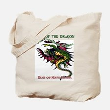 Tail Of The Dragon Tote Bag
