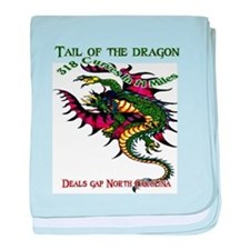 Tail Of The Dragon baby blanket