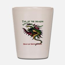 Tail Of The Dragon Shot Glass