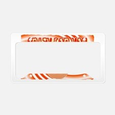 crazy for you License Plate Holder