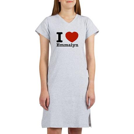 I love Emmalyn Women's Nightshirt