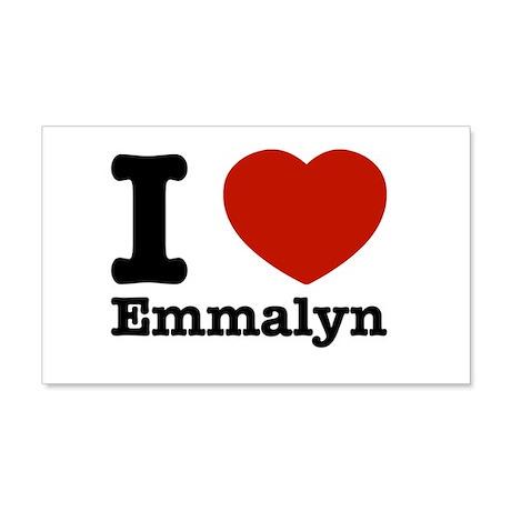 I love Emmalyn 22x14 Wall Peel