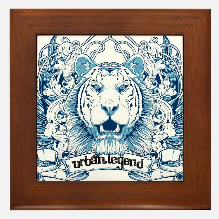 Urban Legend Framed Tile