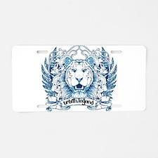 Urban Legend Aluminum License Plate