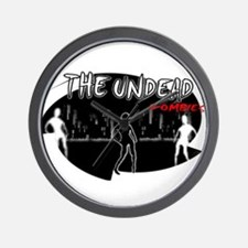 the undead zombies Wall Clock