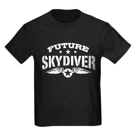Future Skydiver Kids Dark T-Shirt
