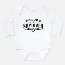 Future Skydiver Long Sleeve Infant Bodysuit