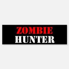 Zombie Hunter Bumper Bumper Sticker