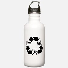 Squash designs Water Bottle