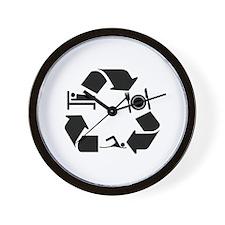 Swimming designs Wall Clock