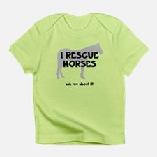 I RESCUE Horses Infant T-Shirt