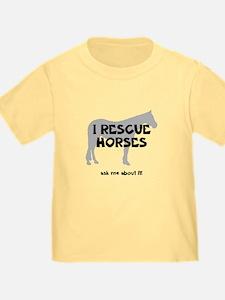 I RESCUE Horses T