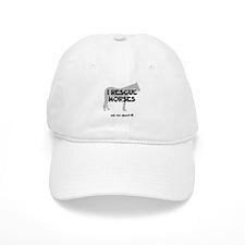 I RESCUE Horses Baseball Cap