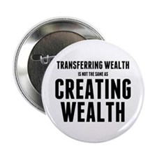 """Creating Wealth 2.25"""" Button (10 pack)"""