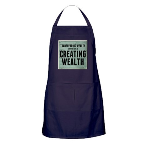 Creating Wealth Apron (dark)