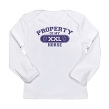 Horse PROPERTY Long Sleeve Infant T-Shirt
