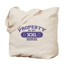 Horse PROPERTY Tote Bag