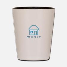 House Music Shot Glass