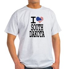 I love South Dakota T-Shirt