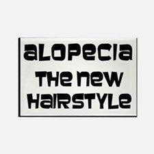alopecia style2 Rectangle Magnet