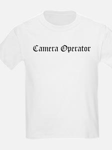 Camera Operator Kids T-Shirt